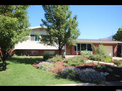 Logan Single Family Home Under Contract: 1439 E 800 N