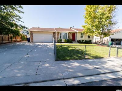 West Jordan Single Family Home For Sale: 5238 W Ticklegrass Rd S