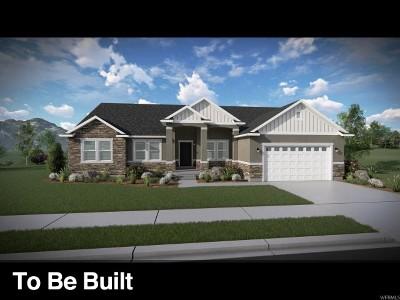 Eagle Mountain Single Family Home For Sale: 514 E Mount Peale Dr #334