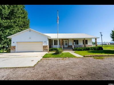 Heber City Single Family Home For Sale: 1536 W 3000 S