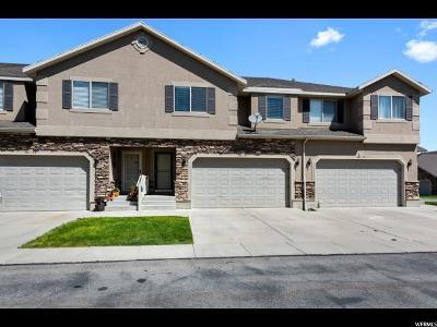 Riverton Townhouse For Sale: 1646 W Madison Ridge Ln S