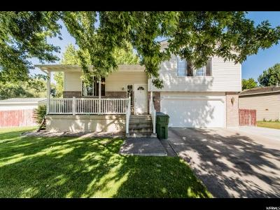 Single Family Home For Sale: 80 E 1370 South Pl