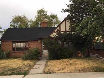 Salt Lake City Single Family Home Under Contract: 1398 S 1300 E
