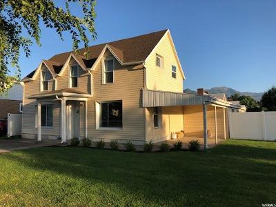 Spanish Fork Single Family Home For Sale: 210 E Center St