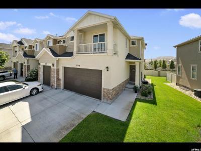 Lehi Townhouse For Sale: 3779 N Prairie Grass Dr W