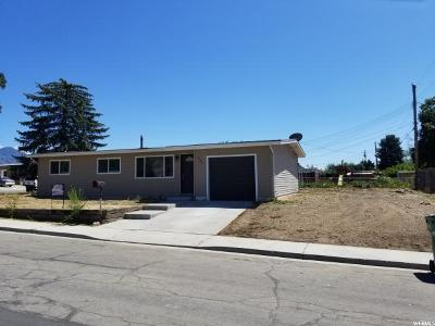 Orem Single Family Home Under Contract: 955 W 570 N