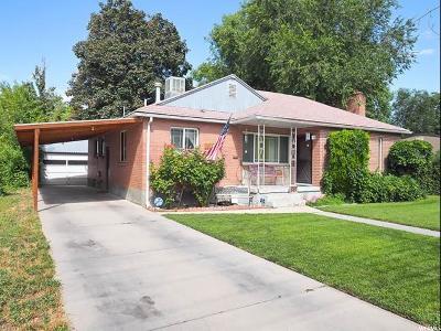 Salt Lake City Single Family Home For Sale: 885 N 1400 W