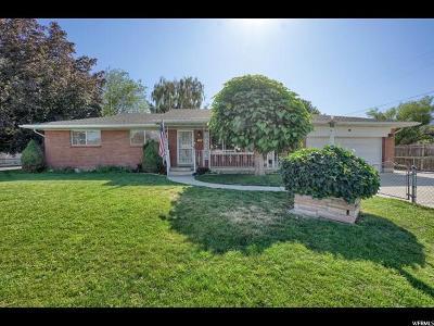 Sandy Single Family Home For Sale: 8895 S 540 E