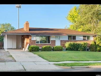Bountiful Single Family Home Under Contract: 371 W 2400 S