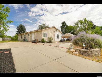 Roy Single Family Home Under Contract: 2292 W 4800 S