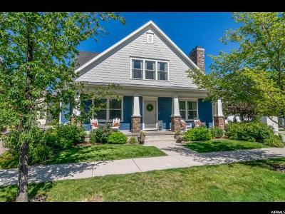 South Jordan Single Family Home Under Contract: 10899 S Topview Rd