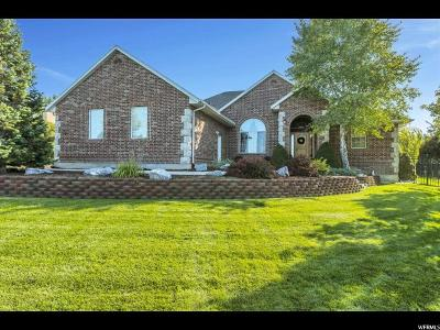 Saratoga Springs Single Family Home Under Contract: 158 E Cottonwood Loop
