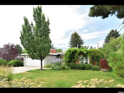 Salt Lake City Single Family Home For Sale: 3535 E Ceres Dr