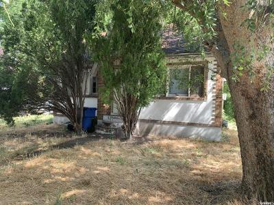 Weber County Single Family Home Under Contract: 634 Canyon Rd S