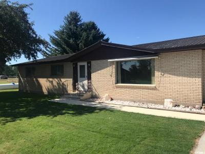 Preston Single Family Home For Sale: 876 W 3200 S