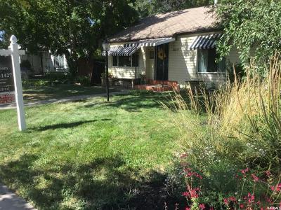 Salt Lake City Single Family Home For Sale: 309 N 1200 W