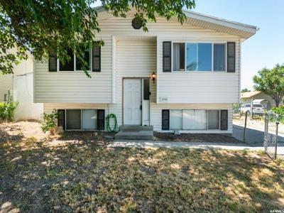 West Jordan Single Family Home For Sale: 8704 S 3720 W