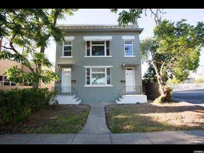 Salt Lake City Multi Family Home Backup: 217 E 600 S