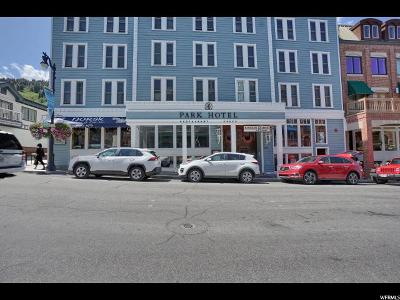 Park City Condo For Sale: 605 Main St #406