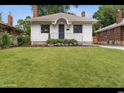 Salt Lake County Single Family Home For Sale: 2657 S Chadwick St E