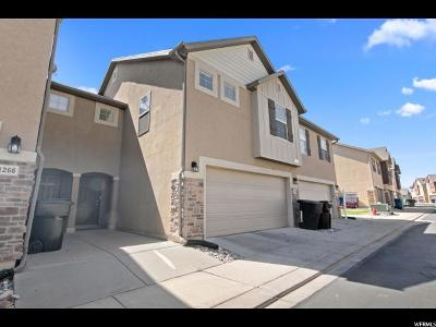 Spanish Fork Townhouse For Sale: 1262 Firefly Dr