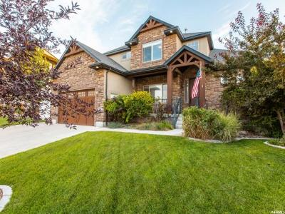 Herriman Single Family Home For Sale: 5453 W Rose Willow Cir