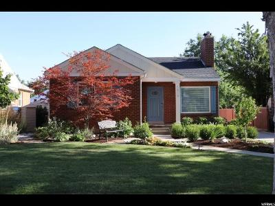 Salt Lake City Single Family Home For Sale: 1816 E Westminster Ave S
