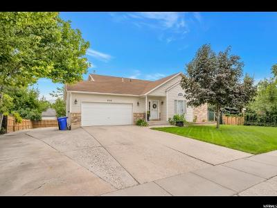 West Jordan Single Family Home For Sale: 8549 S 3310 W