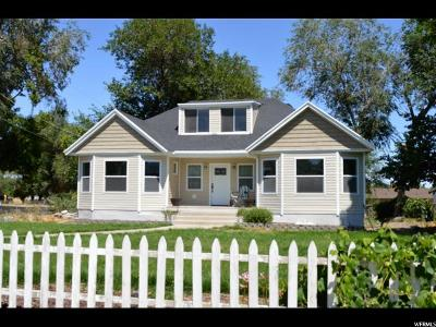 Tooele County Single Family Home For Sale: 84 W Main St