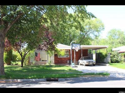 Salt Lake City Single Family Home Backup: 1151 N American Beauty Dr W
