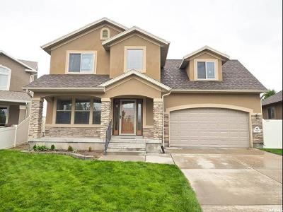 West Jordan Single Family Home Under Contract: 7907 Madison Nan Dr