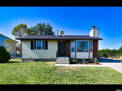 Salt Lake City Single Family Home For Sale: 4820 W Niagara S
