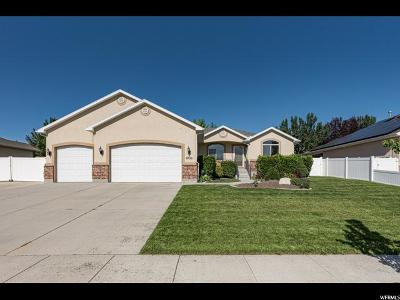South Jordan Single Family Home For Sale: 9726 S Sandwood Dr W