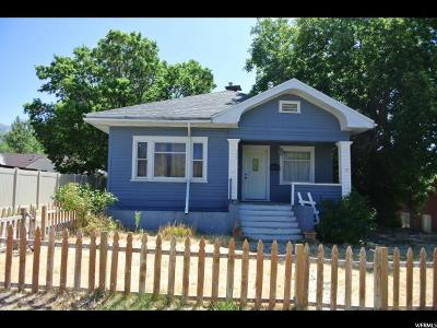 Brigham City Single Family Home For Sale: 319 W Forest St