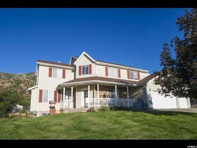 Santaquin Single Family Home Under Contract: 515 S 690 E