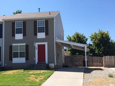 Tooele County Single Family Home For Sale: 183 W Wallace Way