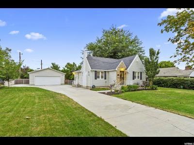 Salt Lake County Single Family Home For Sale: 1442 E Hudson Ave
