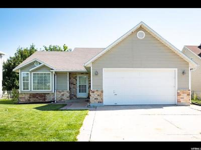 Single Family Home For Sale: 320 W 1330 N
