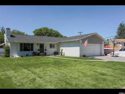 Bountiful Single Family Home Under Contract: 892 S 150 W