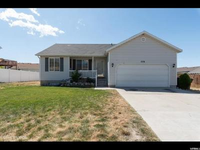 Tooele County Single Family Home For Sale: 578 S 900 W