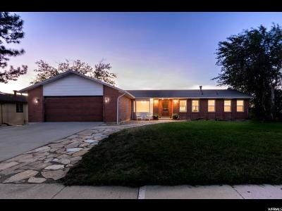 Bountiful Single Family Home For Sale: 3496 S Lexington Dr E