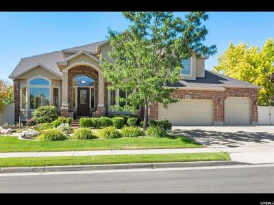 South Jordan Single Family Home For Sale: 2873 W Rock Creek Dr