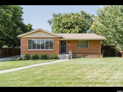 Bountiful Single Family Home For Sale: 33 E 1100 S