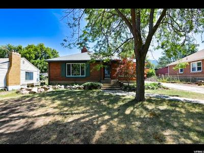 Ogden Single Family Home For Sale: 3538 S Quincy Ave E