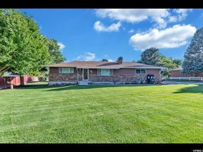 South Jordan Single Family Home Under Contract: 2291 W 10755 S