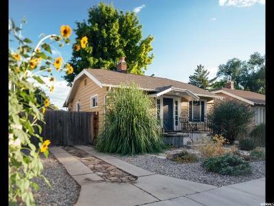 Salt Lake City Single Family Home For Sale: 248 E Coatsville Ave