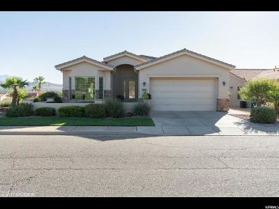 St. George Single Family Home For Sale: 2614 W Laquinta
