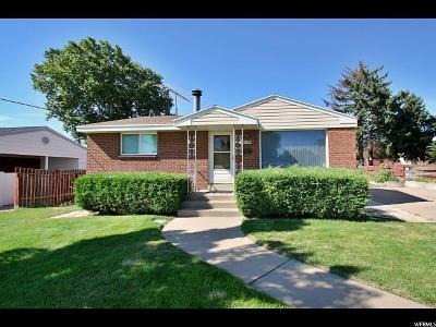 Davis County Single Family Home Under Contract: 100 W 350 N