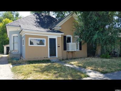 Salt Lake City Single Family Home For Sale: 725 W 400 N