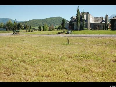 Wasatch County Residential Lots & Land For Sale: 620 W Boulder Point Rd